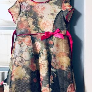 Us Angels Dresses - 3T Toddle Girl Floral Dress